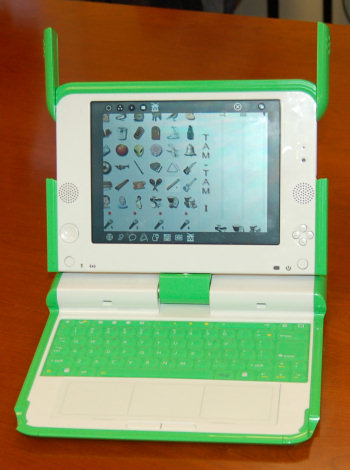 OLPC green machine