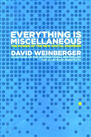 everything is miscellaneous cover